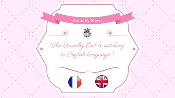 Frenchy is switching to english